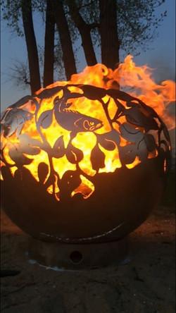 FISH ECLIPSE FIREBOWL FIRE PIT