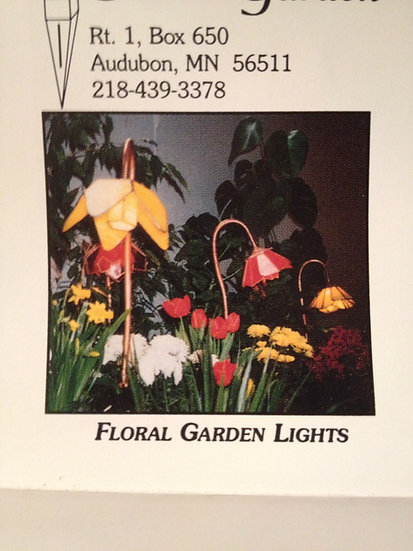 EDEN'SGARDEN STAINED GLASS LANDSCAPE LIGHTING