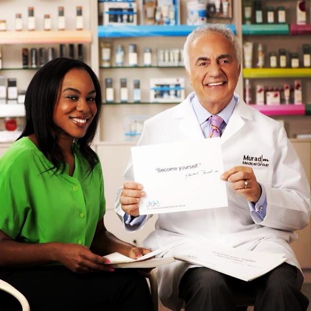 Tamerri Ater and Dr. Howard Murad
