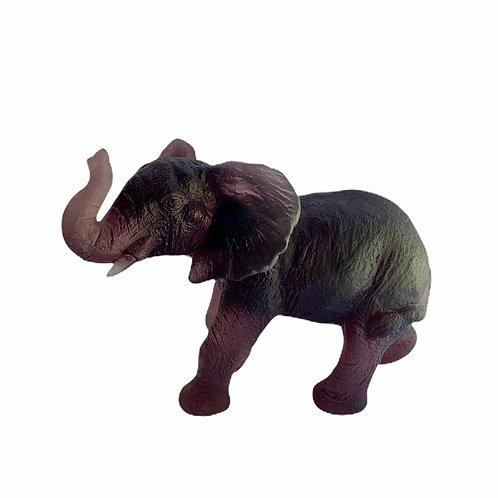Young Quanza Elephant Amethyst