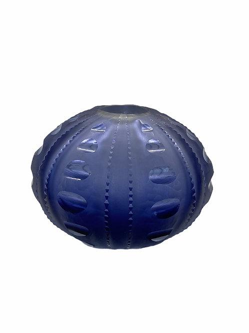 Large Sea Urchin Vase Vase Violet Blue