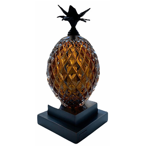 Pineapple  Bookend  Amber