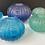 Thumbnail: Large Sea Urchin Vase Vase Violet Blue