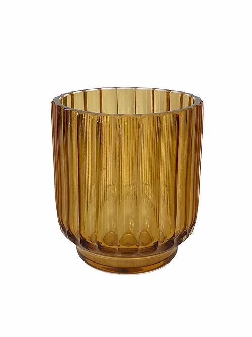 Multi-purpose Amber Vase