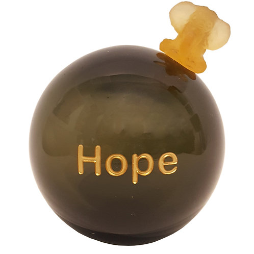 Olive Message On a Ball Hope
