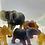 Thumbnail: Young Quanza Elephant Light Amber