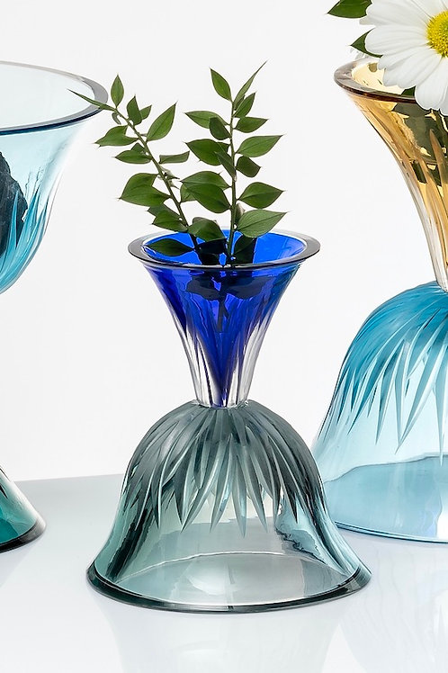 Confetti  Tourmalin  and Dark Blue