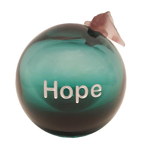 Tourmaline Message On a Ball Hope