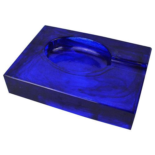 Cigar Ash Tray Blue