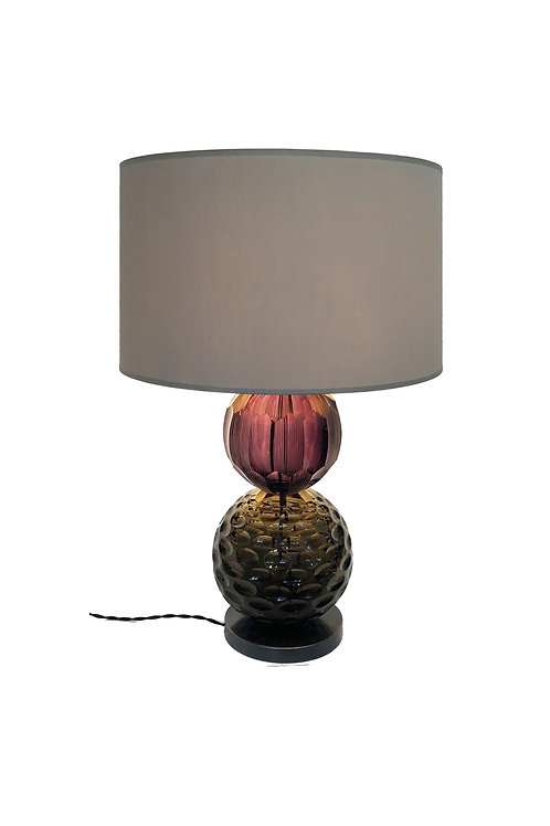 Timeless Table Lamp Amethyst & Olive