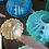 Thumbnail: Small Sea Urchin Vase Vase Amber