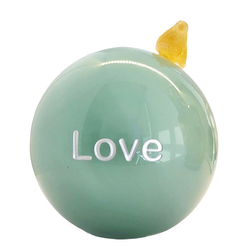 Celadon Message On a Ball Love