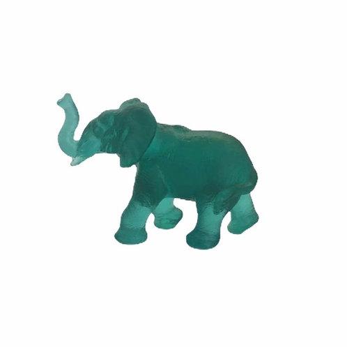 Baby Quanza Elephant Emerald Green