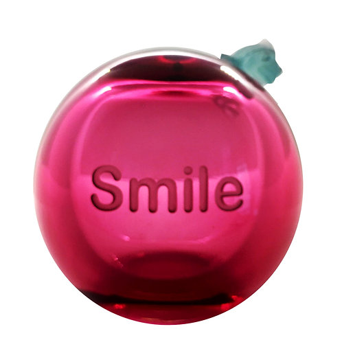 Message On a Ball Pink Smile