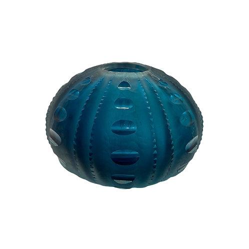 Large Sea Urchin Vase Vase Aegean Blue