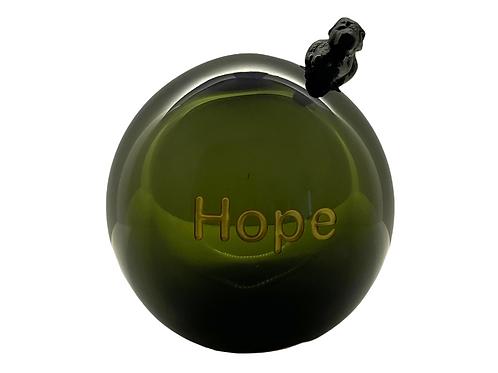 Smokey Gray Message On a Ball Hope