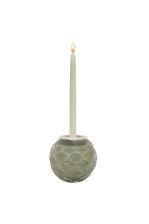 Taupe Candle Holder and Match Strike