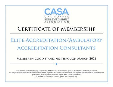elite accreditationambulatory accreditat