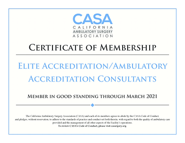 elite accreditationambulatory accreditat