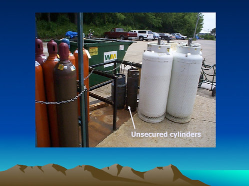 Protocol for Cylinder Gases in Healthcare, Transport, Handling, Storage
