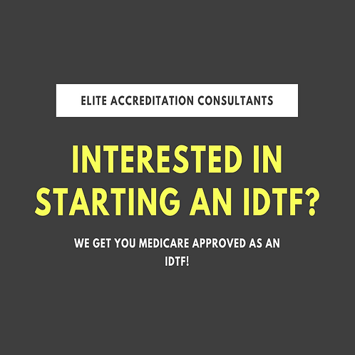 IDTF Project Consulting Flat Fee