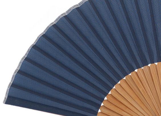 Abanico Bambú Blue 21 cm