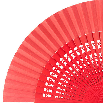 Abanico Calado Red 23 cm