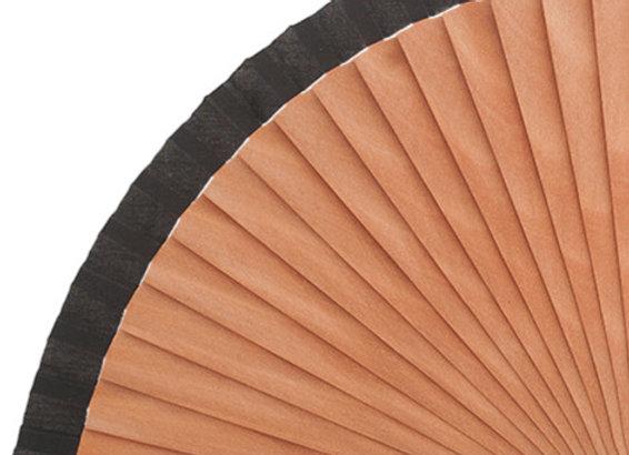 Abanico Peral Liso Black 21 cm