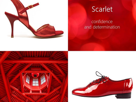 The Colour of Spring: Scarlet
