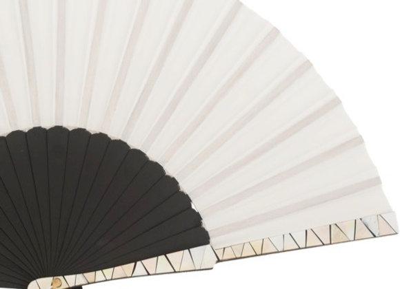 Abanico Exclusivo Arce-Nacar Black & White23 cm