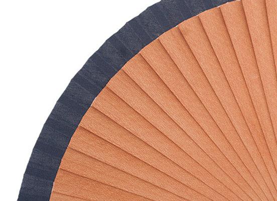 Abanico Peral Liso Blue 21 cm