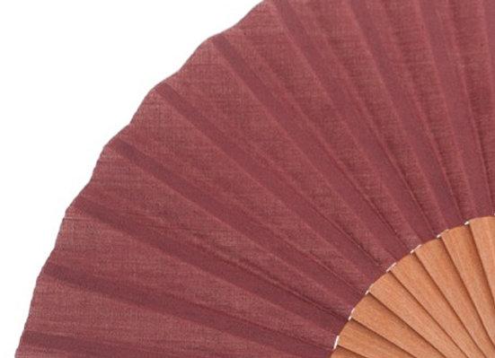 Abanico Peral Burgundy 19 cm - Gentlemen's Fan