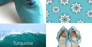 The Colour of Spring: Turquoise