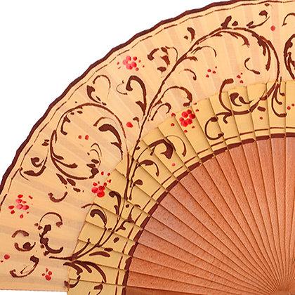Abanico Exclusivo Caramel 23 cm