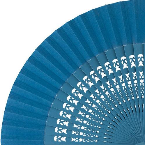 Abanico Calado Turquoise 23 cm