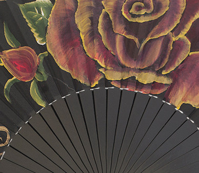 Did you know we have a large collection of Spanish fans ?