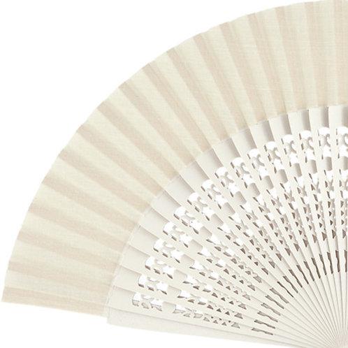Abanico Calado Ivory 23 cm
