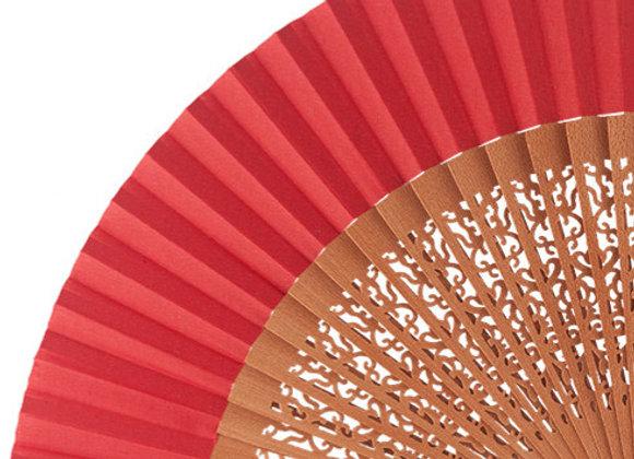 Abanico Peral Calado Red 23 cm