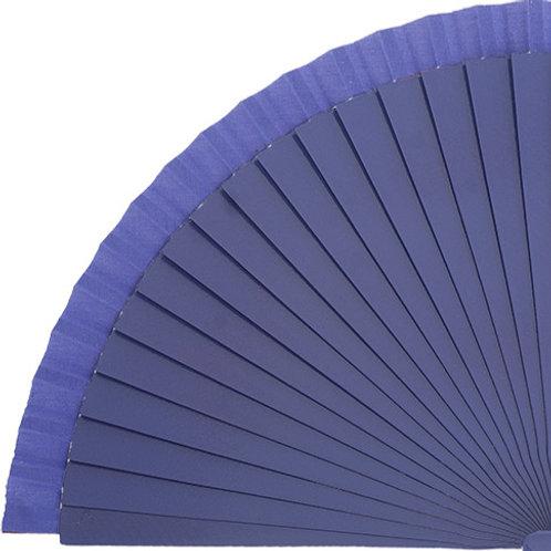 Abanico Liso Violet 23 cm