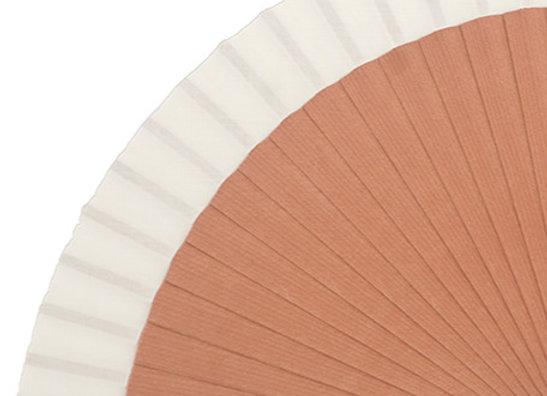 Abanico Fagus Liso Natural 23 cm
