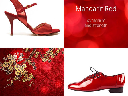 The Colour of Autumn/Winter 2020/2021: Mandarin Red