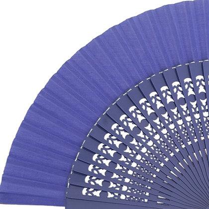 Abanico Calado Violet 23 cm