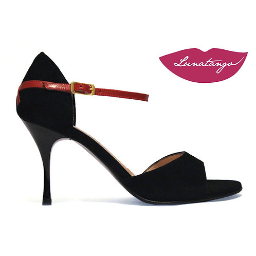 Lunatango X Negro Rojo