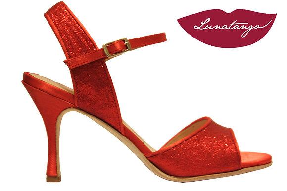 Lunatango Mona Glitter Rojo