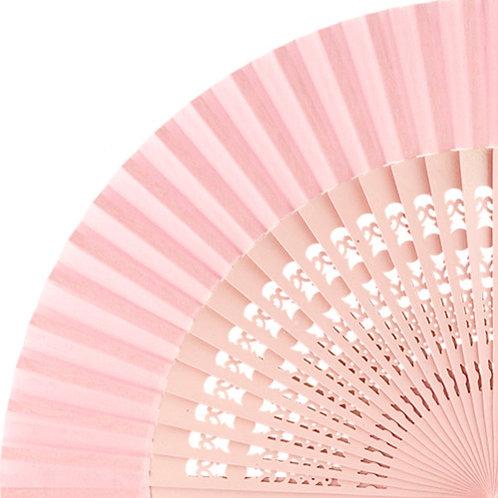 Abanico Calado Pink 23 cm