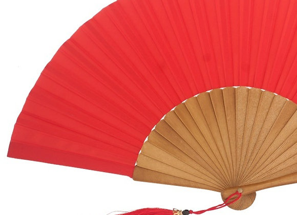 Abanico Exclusivo Arce-Seda Red 23 cm