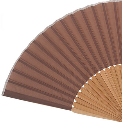Abanico Bambú Brown 21 cm