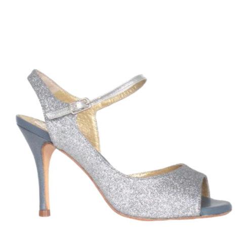 Leike Silver Glitter 8,5 cm