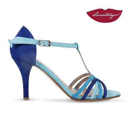 Lunatango Sirume Tricolor Azul Turquesa Cielo