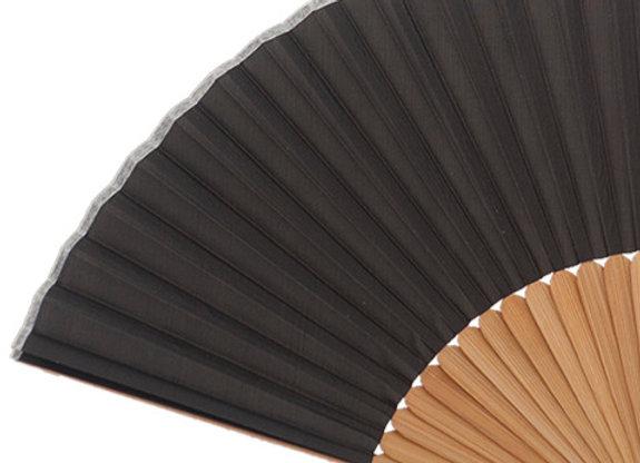 Abanico Bambú Black 21 cm